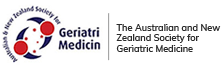 The australian and newzealand society for geriatric medicine